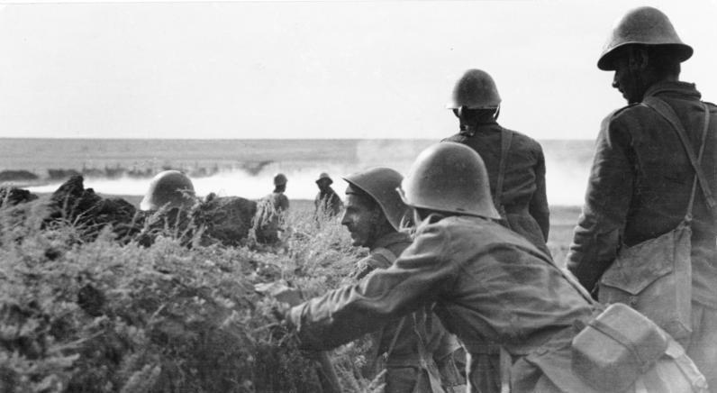 Soldați români pe frontul de răsărit
