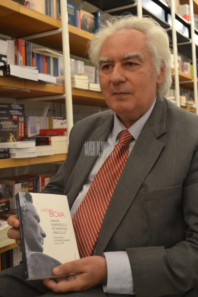 lucian Boia si ultima sa carte - Mihai Eminescu, romanul absolut. facerea si desfacerea unui mit
