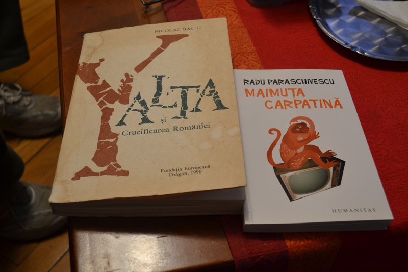 Cărțile pe care le citește acum Vladimir Găitan