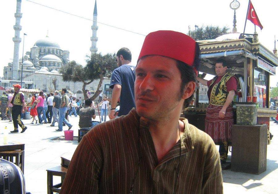 Turcul-Bogdan-Cretu,-la-Istanbul