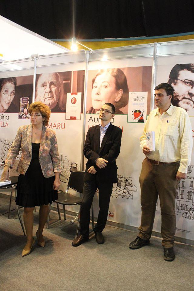 Paul Cernat (in mijloc)