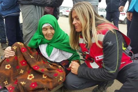O femeie afgană a emigrat în Europa la 105 ani