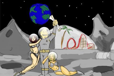 """Se dorește construirea unui """"sat lunar"""""""