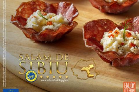 Prima campanie integrată din România pentru un produs cu Indicație Geografică Protejată – Salam de Sibiu IGP
